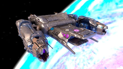 Battle Spaceship Essenor