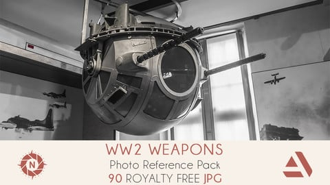 Photo Reference Pack: WW2 Weapons