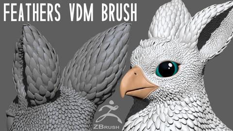 Feathers Chisel / VDM / Multi Alpha Brush
