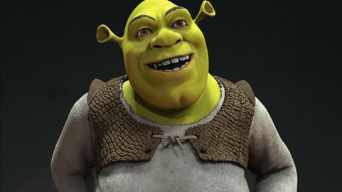 """The Shrek"" 3d sculpt"