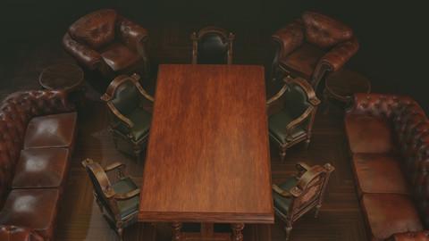 Vintage furniture set