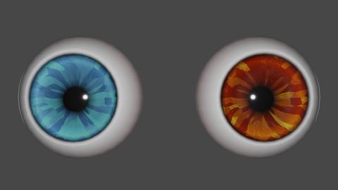 Blender 2.90 Eyes