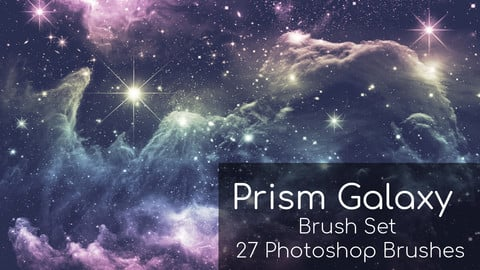 Prism Galaxy Photoshop Brushes