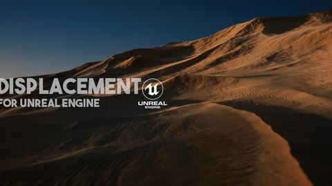 Unreal Engine 4K Desert Displacement