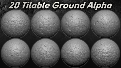 20 Amazing  Tileable  Ground Alpha ( Seamless )