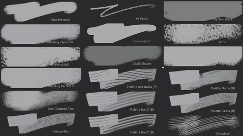 Infinite Painter Brush Pack