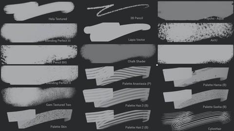 Infinite Painter Brush Pack