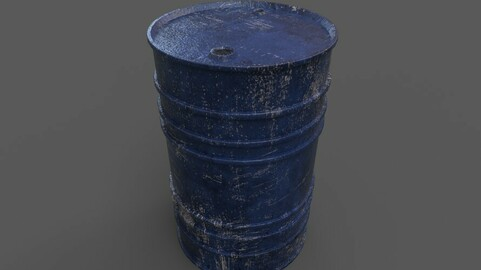 Stoppered Steel Barrel