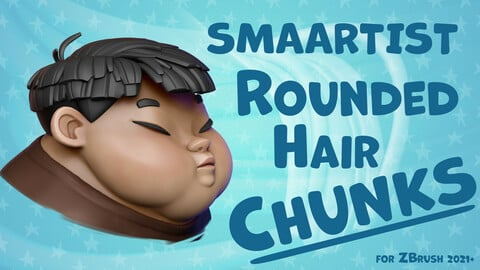 SMAARTIST Rounded Hair Chunks