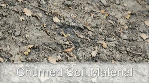 Chuned Soil Scanned Material