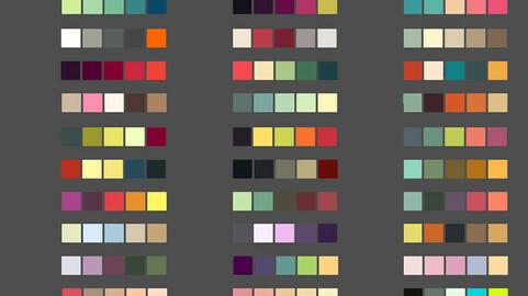 Color Palette 62 for Clip Studio Paint and Ex