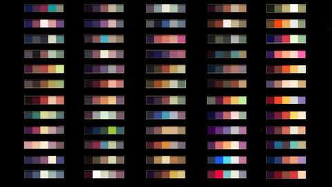 Color Palette 64 for Clip Studio Paint and Ex