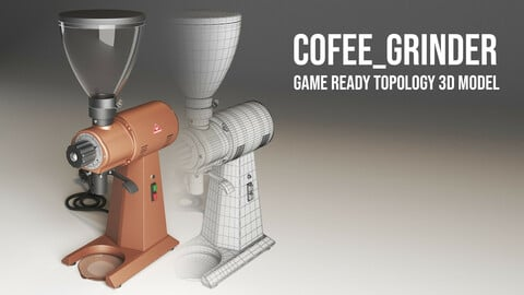 Cofee-Grinder Production ready model [UV, TEXTURE]