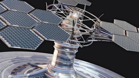 Sci-Fi Solar Array #01