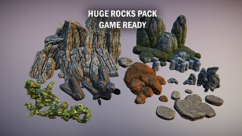 Huge rocks pack