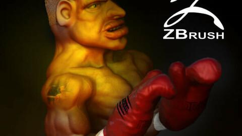Ivan Drago caricature Zbrush 2021