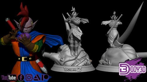 Tapion 1-6 Scale - Dragon Ball
