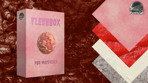 Fleshbox Volume 1 PBR Materials