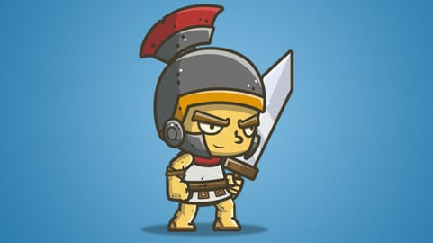 Chibi Knight – The Roman Knight