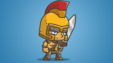 Chibi Knight – The Golden Helmet