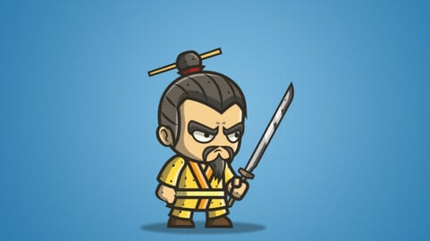 Micro Style Character – Chinese King