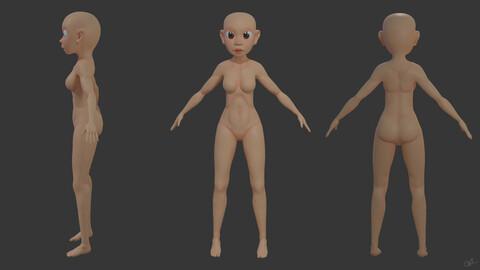 Body Female 01