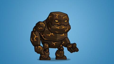 Tiny Lava Monster