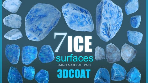 ICE_Surface SMART MATERIALS pack - 3DCoat