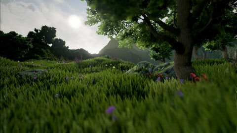 Dynamic Grass  DREAM Project Realistic