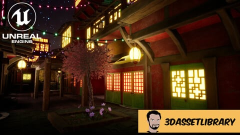 Fantasy Town Vol 1 For Unreal Engine