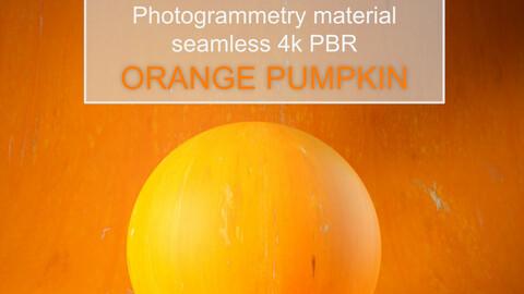 Orange Pumpkin - Photogrammetry Material - e710c999