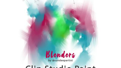 Blending Brushes by Sundeepartist - Clip Studio Paint
