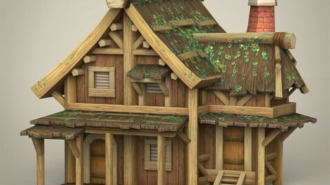 Game Ready Wooden House