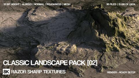 8K Classic landscapes | PBR