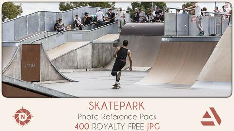 Photo Reference Pack: Skatepark