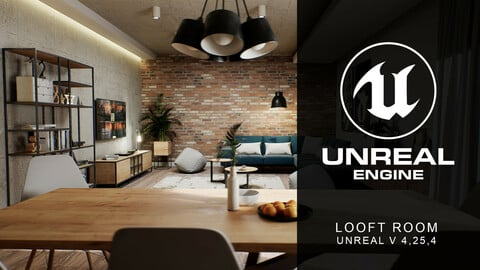 Looft interior unreal V 4,25,4