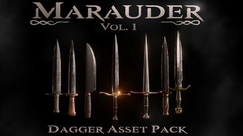 Marauder Vol. 1: Dagger Asset Pack