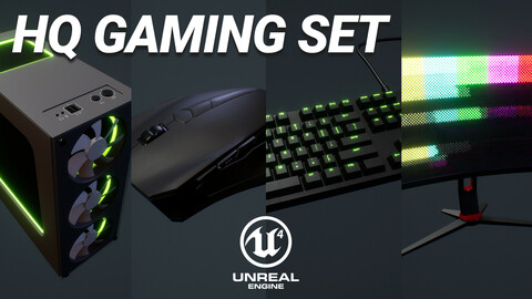 Hq Gaming Set [Unreal Engine 4]