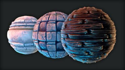Stylized Textures for Games