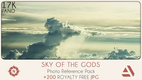 Photo Reference Pack: Sky of the Gods