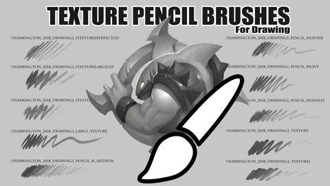 Texture Pencil Brushes