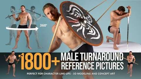 1800+ Male Turnaround Reference Pictures