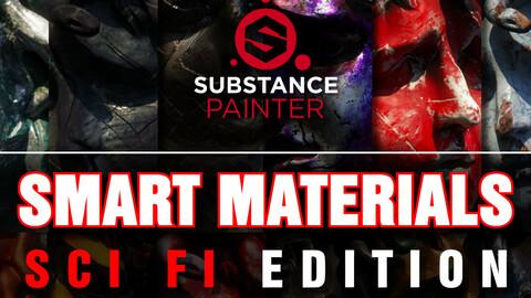 Substance Painter Smart Materials Sci Fi Edition