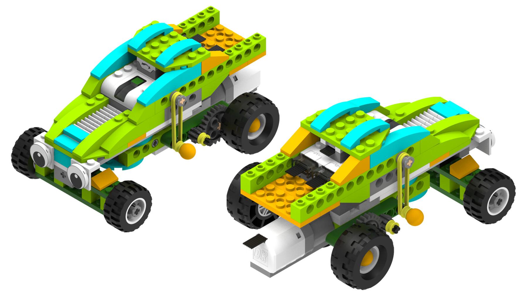 ArtStation - LEGO Education WeDo 2.0 45300 Bricks | Resources