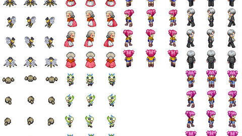Another pokemon rpg maker character