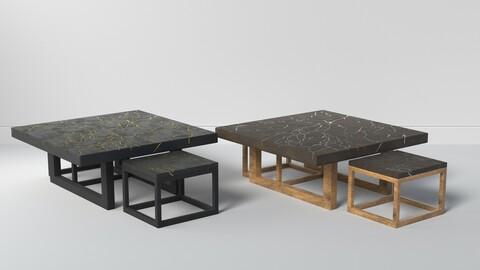 KINTSUGI COFFEE TABLE SET