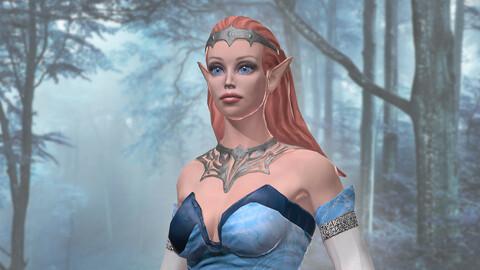 The elf girl