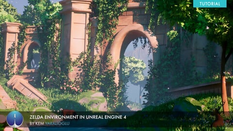 Zelda Environment in Unreal Engine 4 | Kem Yaralioglu