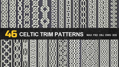 46 Celtic Trim Patterns
