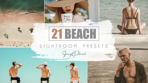 21 Beach Mobile & Desktop Lightroom Presets